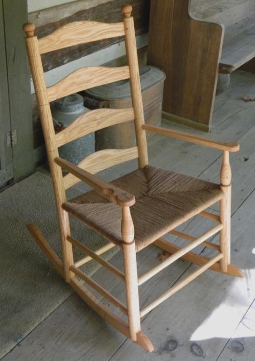 Oak rocking chair.JPG
