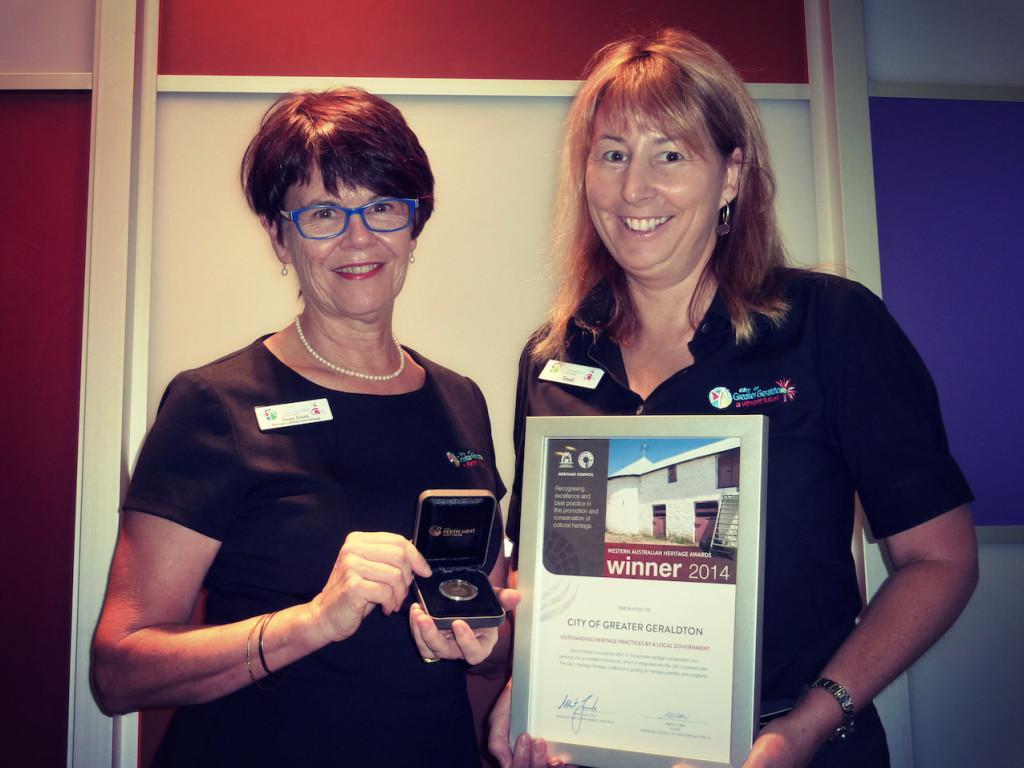 Geraldton Library - Heritage Award 2014 - Susan & Trudi