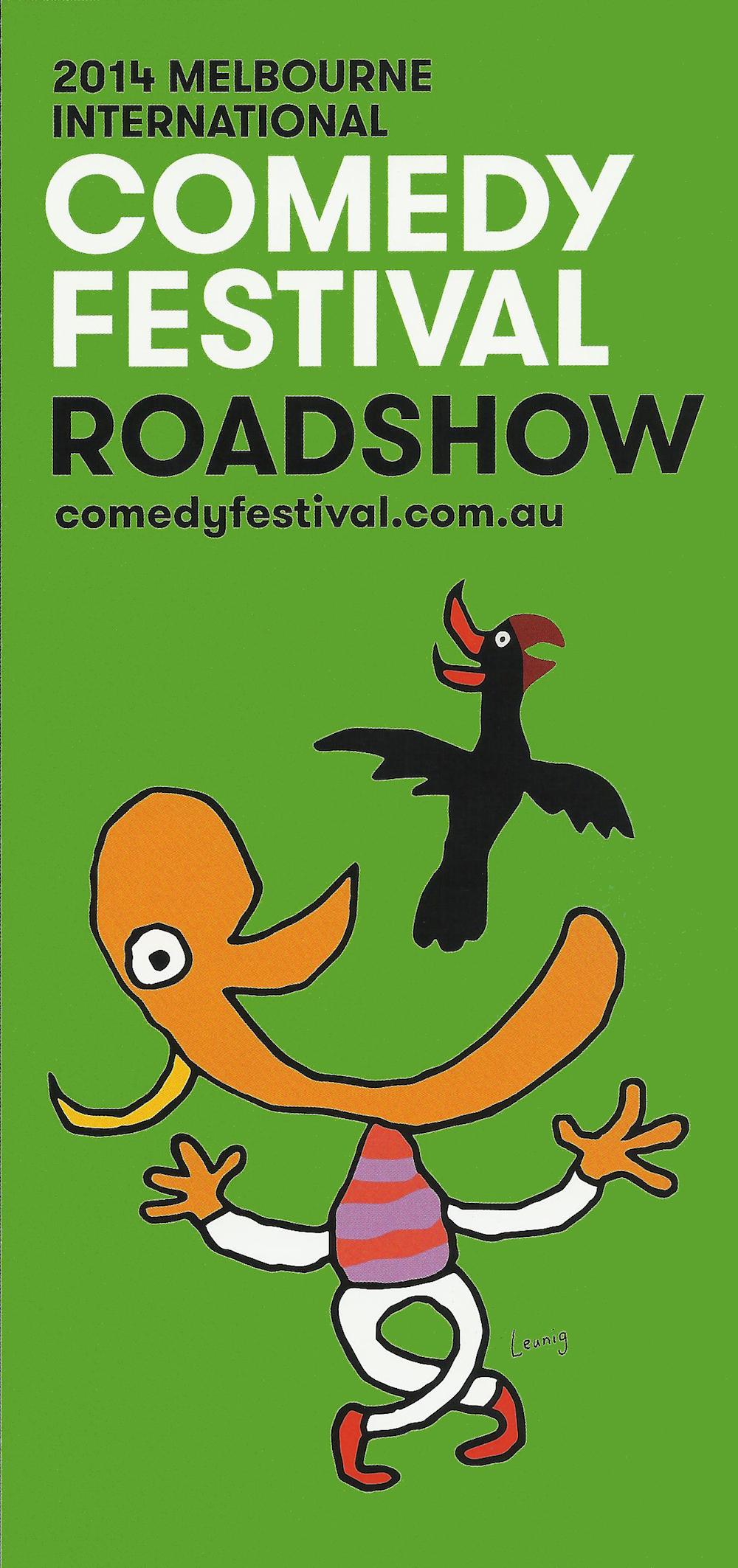 Melbourne Comedy Festival 2014 artwork