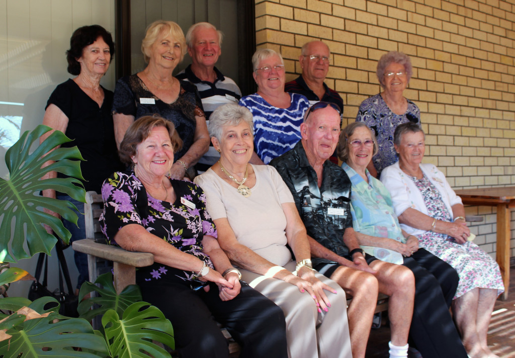 QEII inaugural friendship group