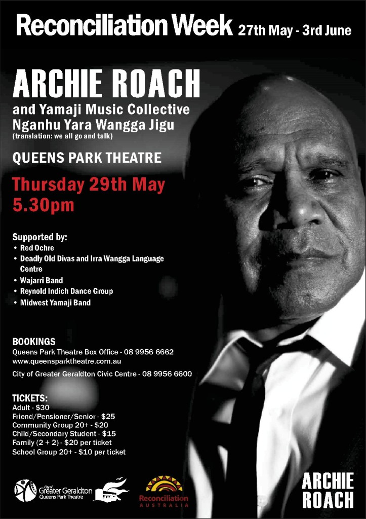 Archie Roach and the Yamaji Music Showcase