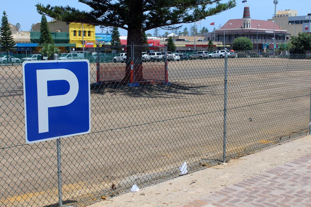 PTA Christmas parking
