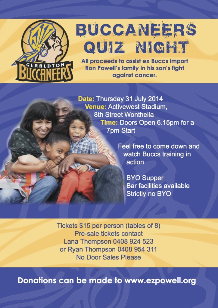 Quiz Night Poster A4