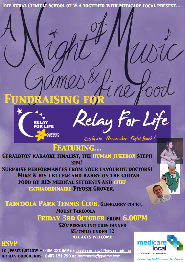 relay for life geraldton