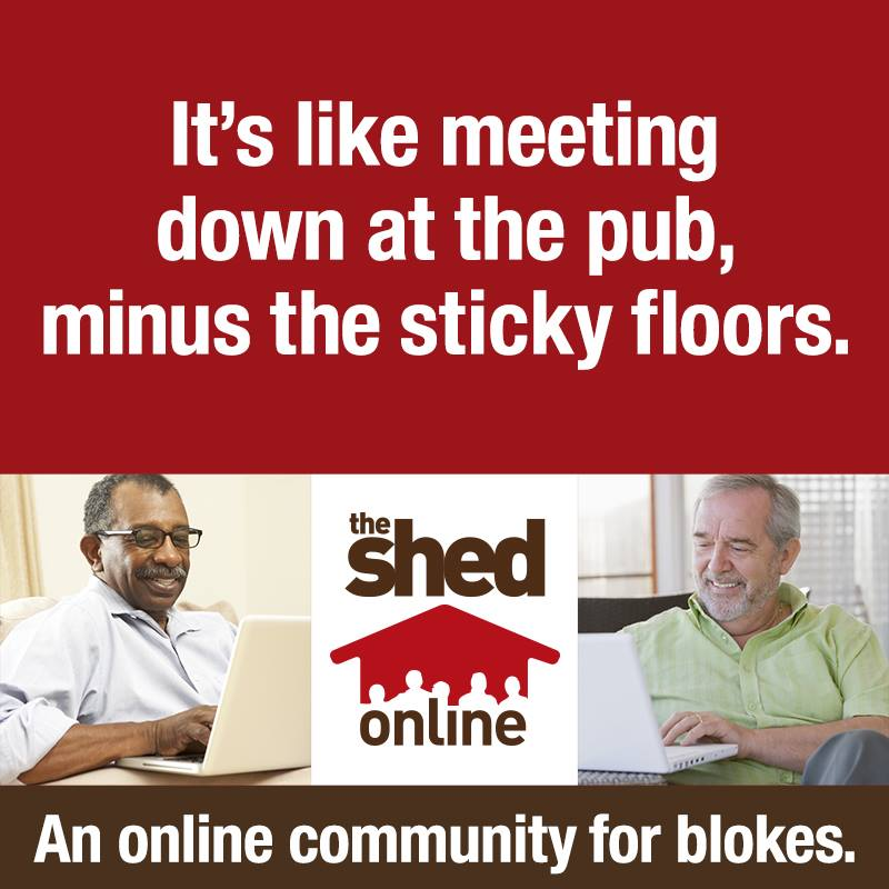 Click to visit The Shed Online