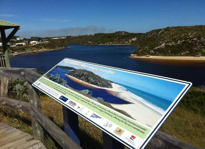 2014 Grants: Interpretive signage funded through NACC's Coastal Devolved Grant Program.