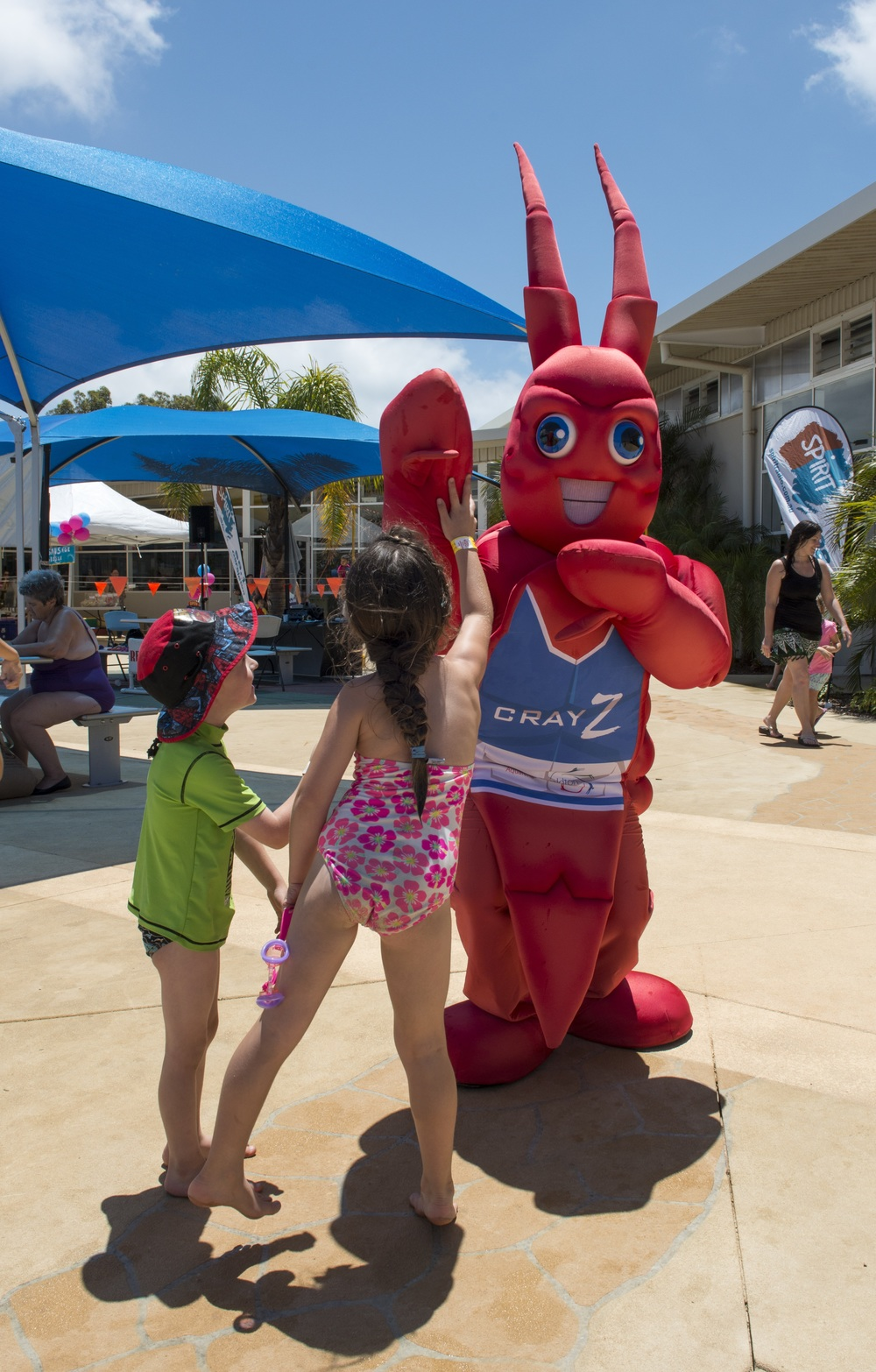 Cray Z will be making an appearance at Sunday's 98.1 Spirit Family Fun Day.