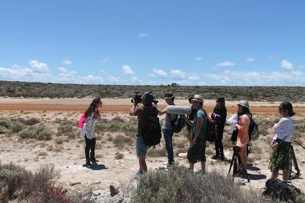 A Chinese production crew were in Geraldton recently filming an episode of the popular online travel show, Traveller.