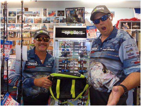 Latest range of Spotters sunglasses in store with bonus offer for Christmas