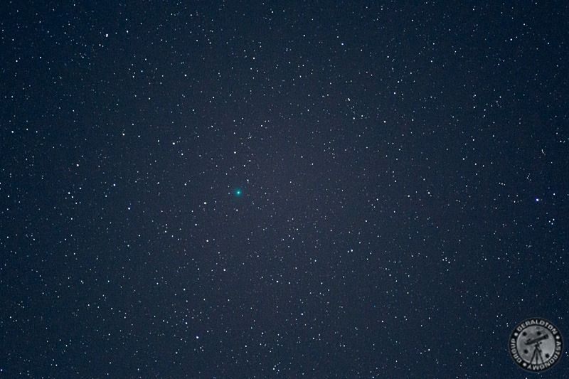 Here is a quick snap of C/2014 Q2 Lovejoy - Pic: Geraldton Astronomy Group