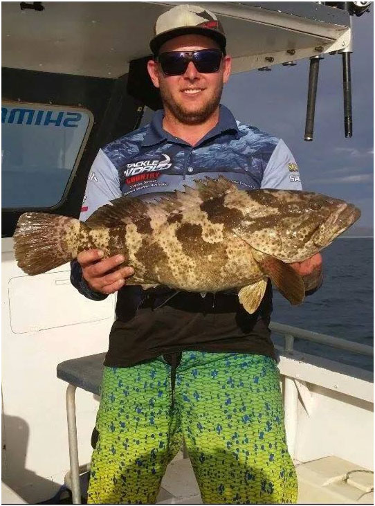 TACKLEWORLD PRO ANGLER JOSH WITH A NICE COD