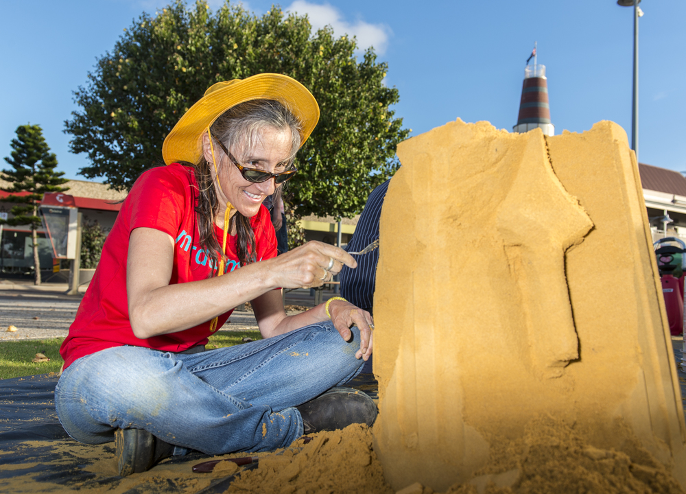 Sand Sculpture Comp and Tutorials