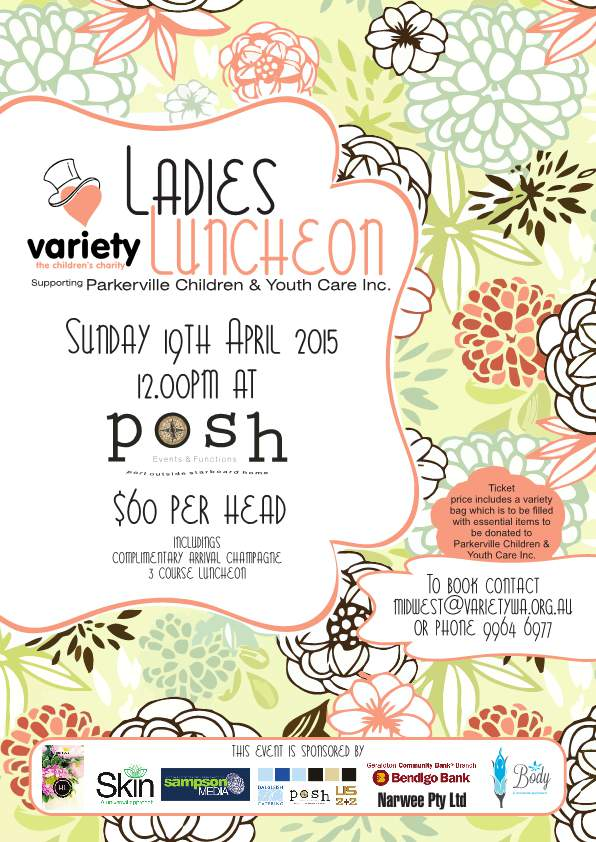 Variety WA Midwest Ladies Luncheon