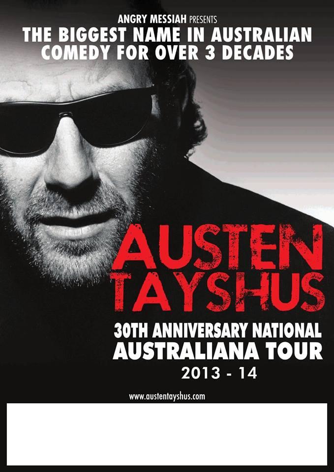 Austen Tayshus Comedy Tour