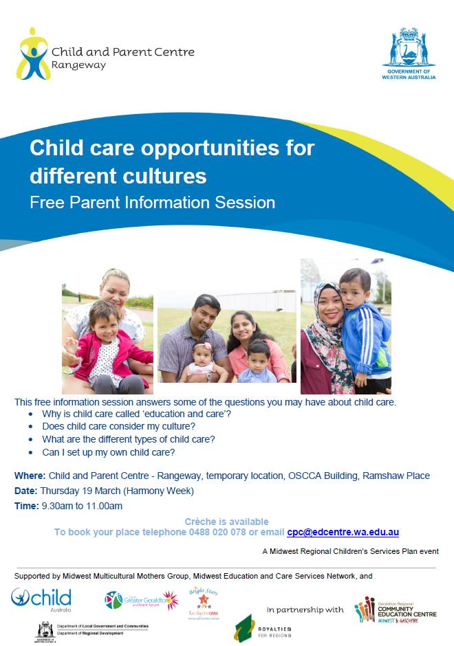 Child Care Opportunities for Different Cultures