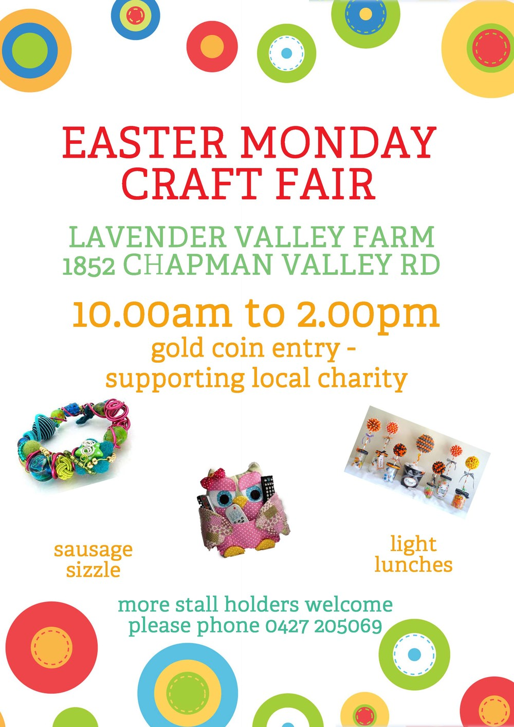 Easter Monday Craft Fair