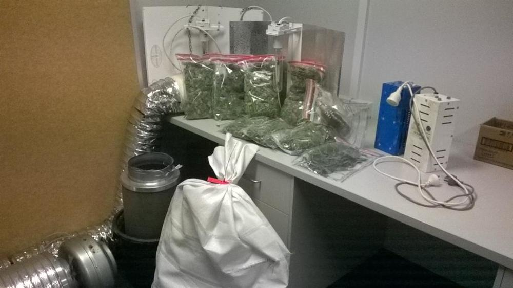 A haul taken by Police in Mandurah earlier in the week.