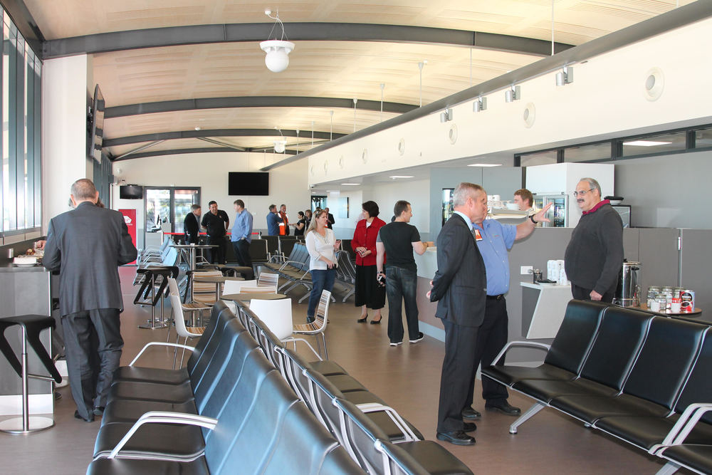 Geraldton Airport's new departures lounge is officially open.