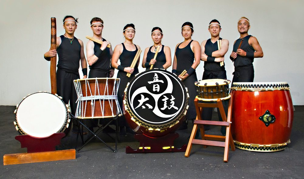 Japanese drumming outfit Taiko On will set audience's hearts racing at the Kalbarri Zest Festival Chamber of Rhetoric performance.