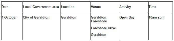 Bushfire Action Month events being held in the Midwest Gascoyne region