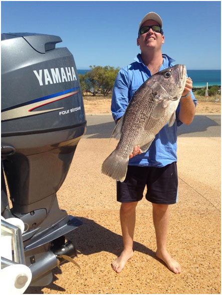 NICK WITH A SOLID DHUIE TAKEN ON SOFT PLASTIC