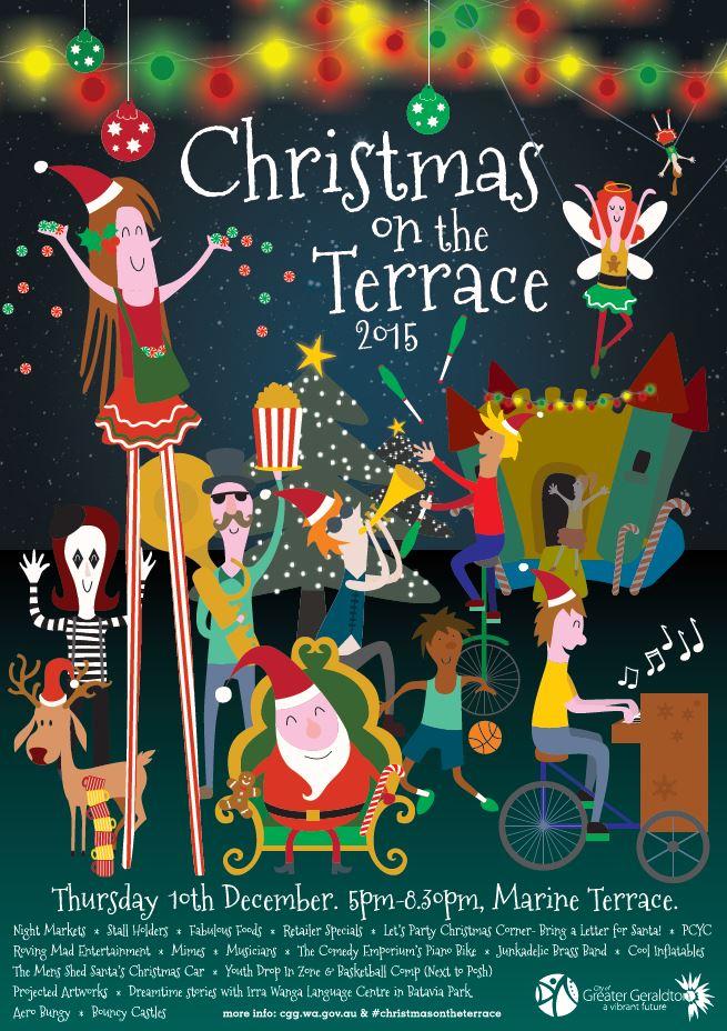 geraldton christmas lights map