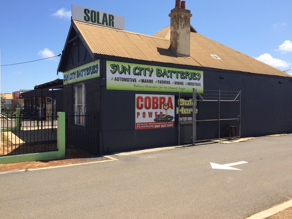 """""""We are located in the end bay of the Shed behind the Old Sun City Solar house"""""""