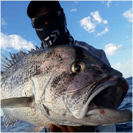 HANIS WITH HIS PB DHU FISH AT 15KG NICE BUD