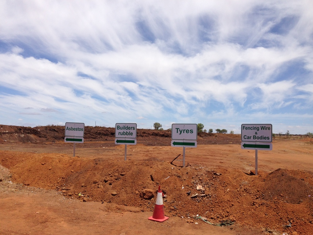 The Mullewa landfill will soon become a fully operable transfer station.