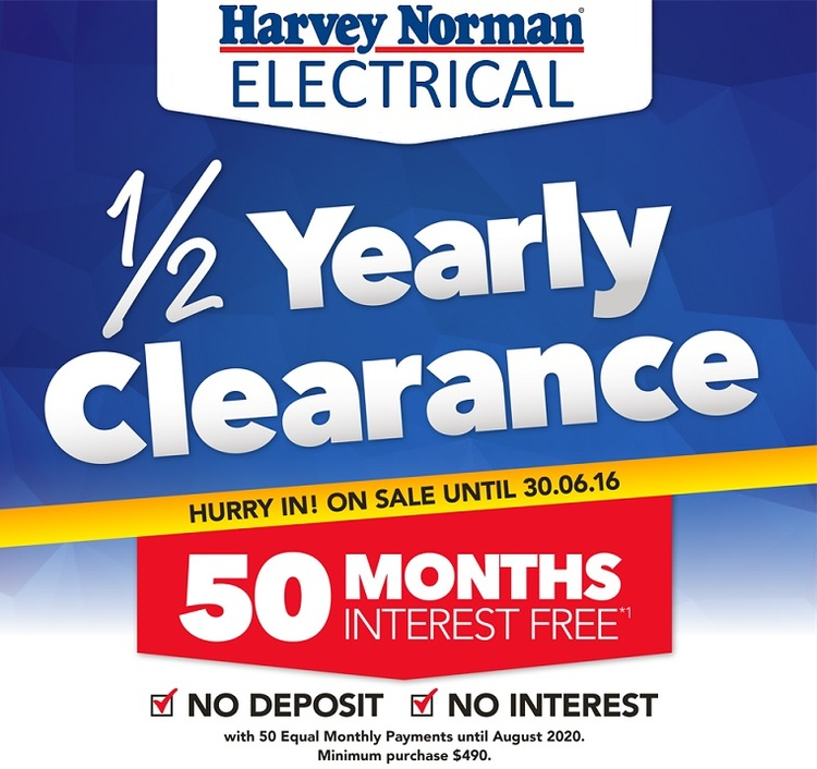 Now is the time to buy yourself that new bedroom suite or update the kids  bedroom  Or maybe you re setting your home office or changing the colour  scheme in. Harvey Norman Furniture s Half Yearly Clearance   Everything Geraldton