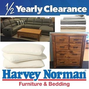 Harvey Norman Furnitureu0027s Half Yearly Clearance