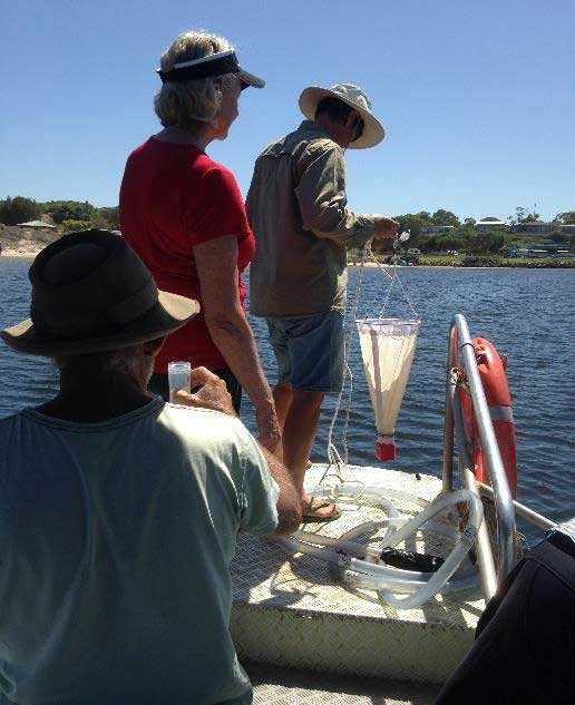Water Monitoring with the Friends of Moore River Estuary.