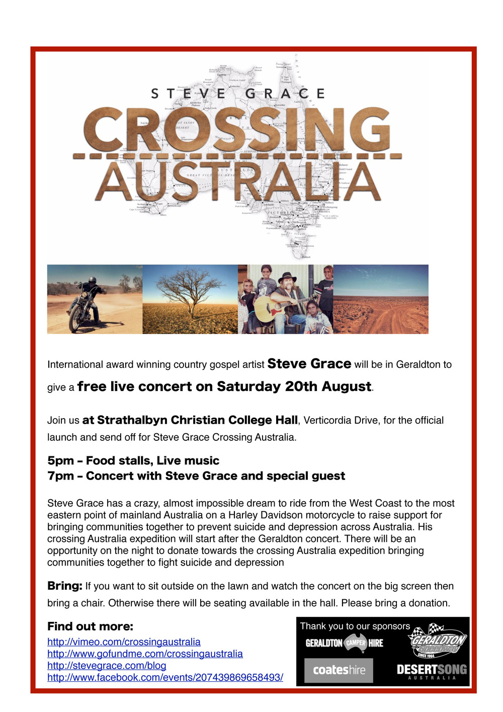 steve grace crossing australia