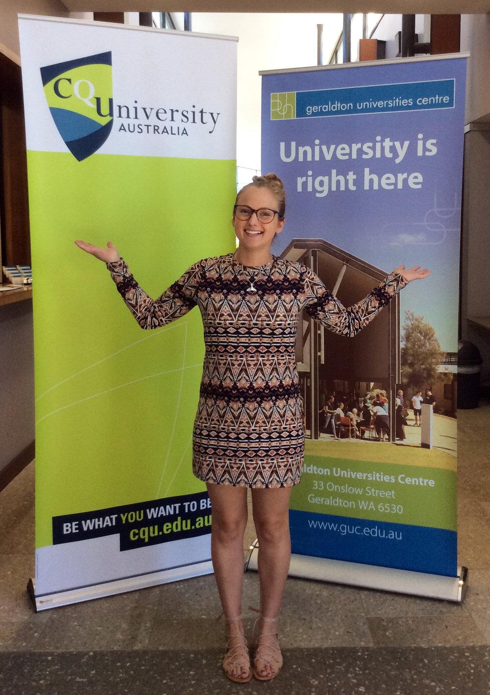 Chloe Wilkinson at GUC