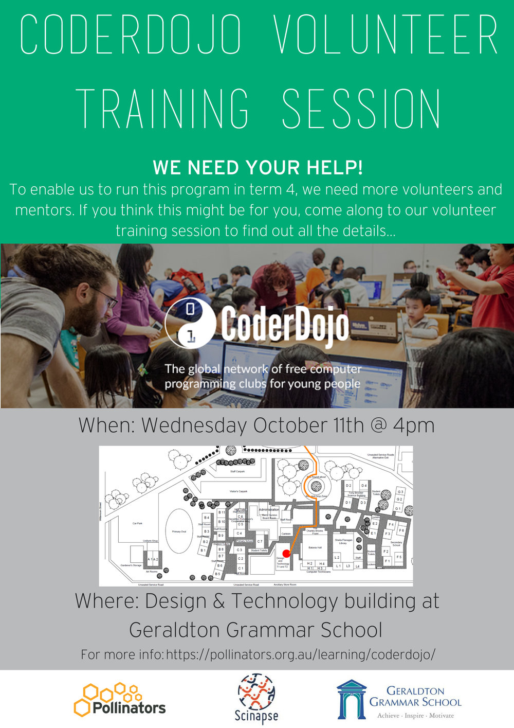 CoderDojo Training Session