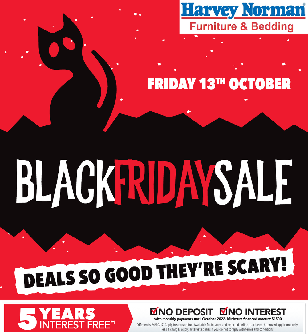 Furniture Store Black Friday Sale: Black Friday Sale On At Harvey Norman Furniture