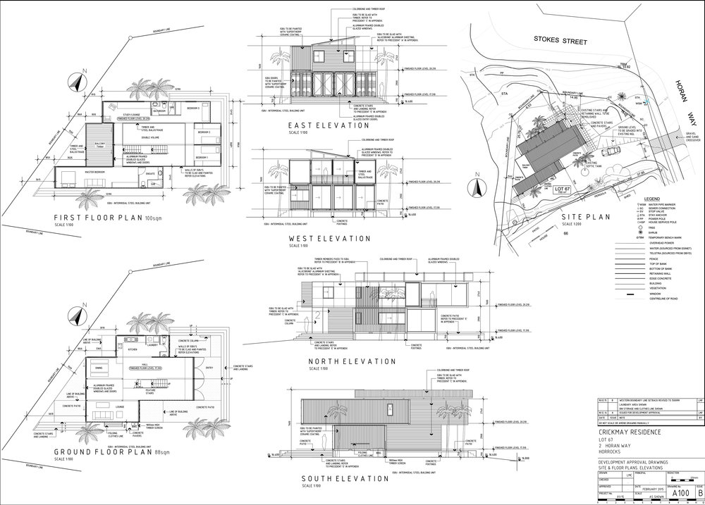Architectural Design And Drafting Services 1 · A100