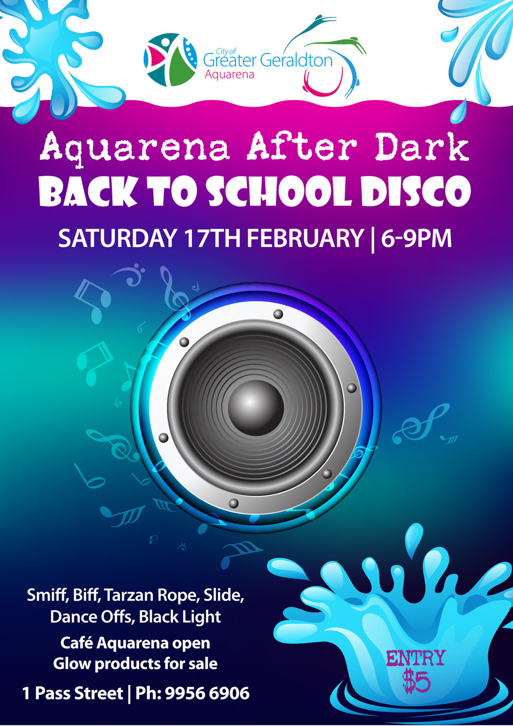 Back to School Disco poster.eps