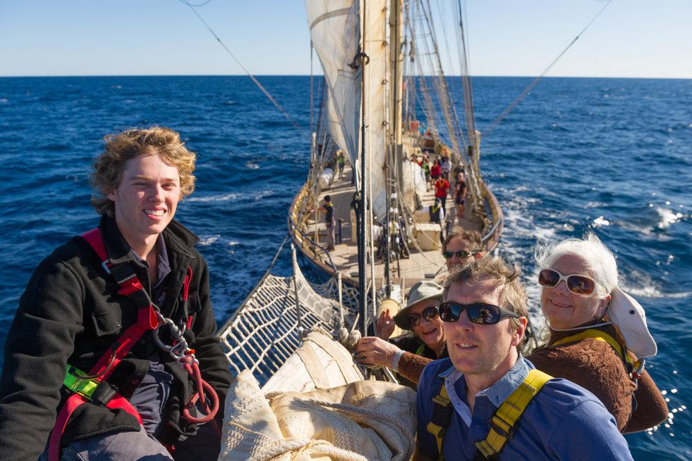 Leeuwin Open Adventurer Voyage 1706. June 6-12, 2017. Monkey Mia / Dirk Hartog island / Abrolhos / Geraldton.
