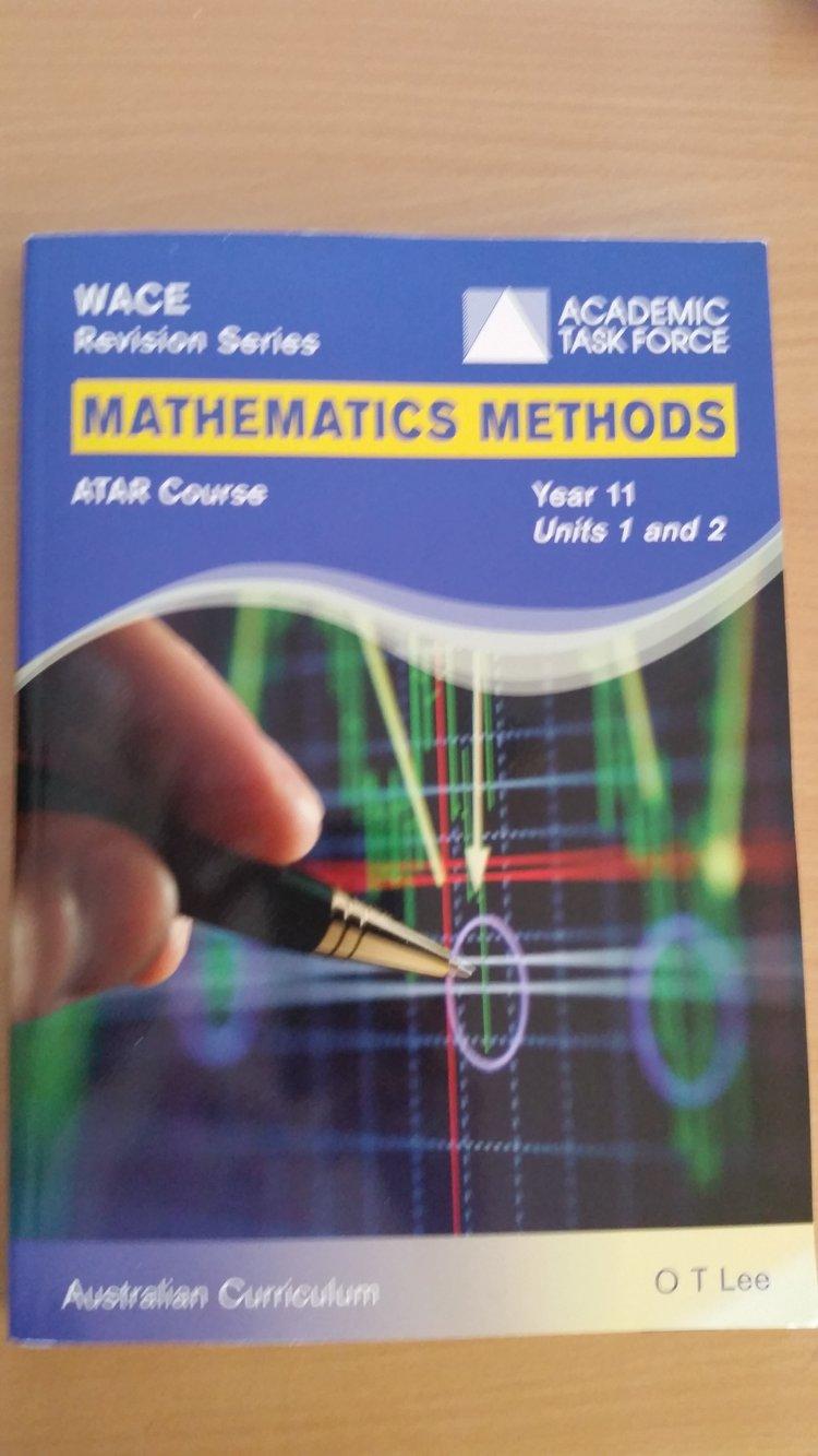 Workbooks workbook methods : Maths Methods Yr. 11 Workbook - Everything Geraldton