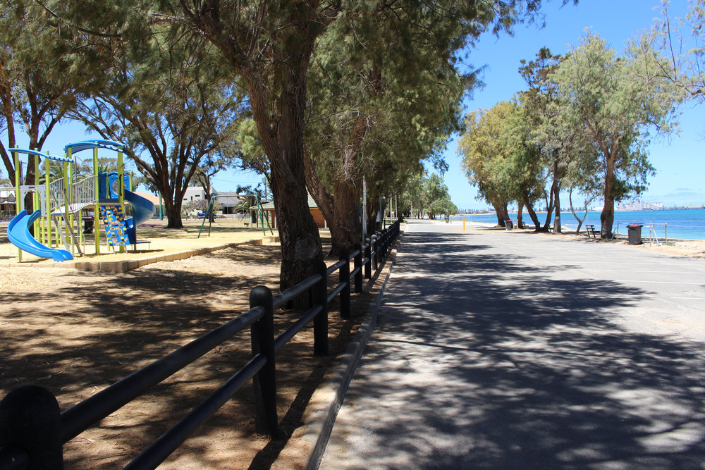 Rundle Park and St Georges Beach were identified as important coastal assets in the Community Coastal Planning Survey.