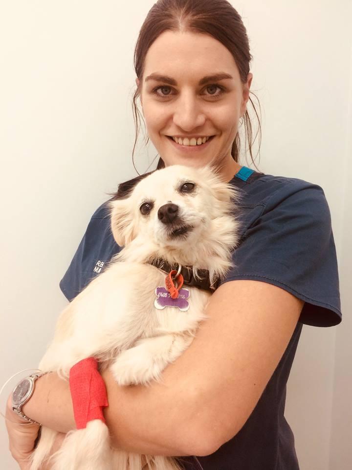 Nurse Renae and Clover