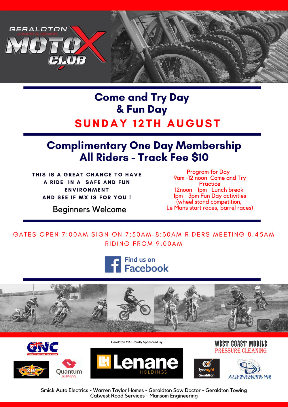 Come & TRy Day / Fun Day