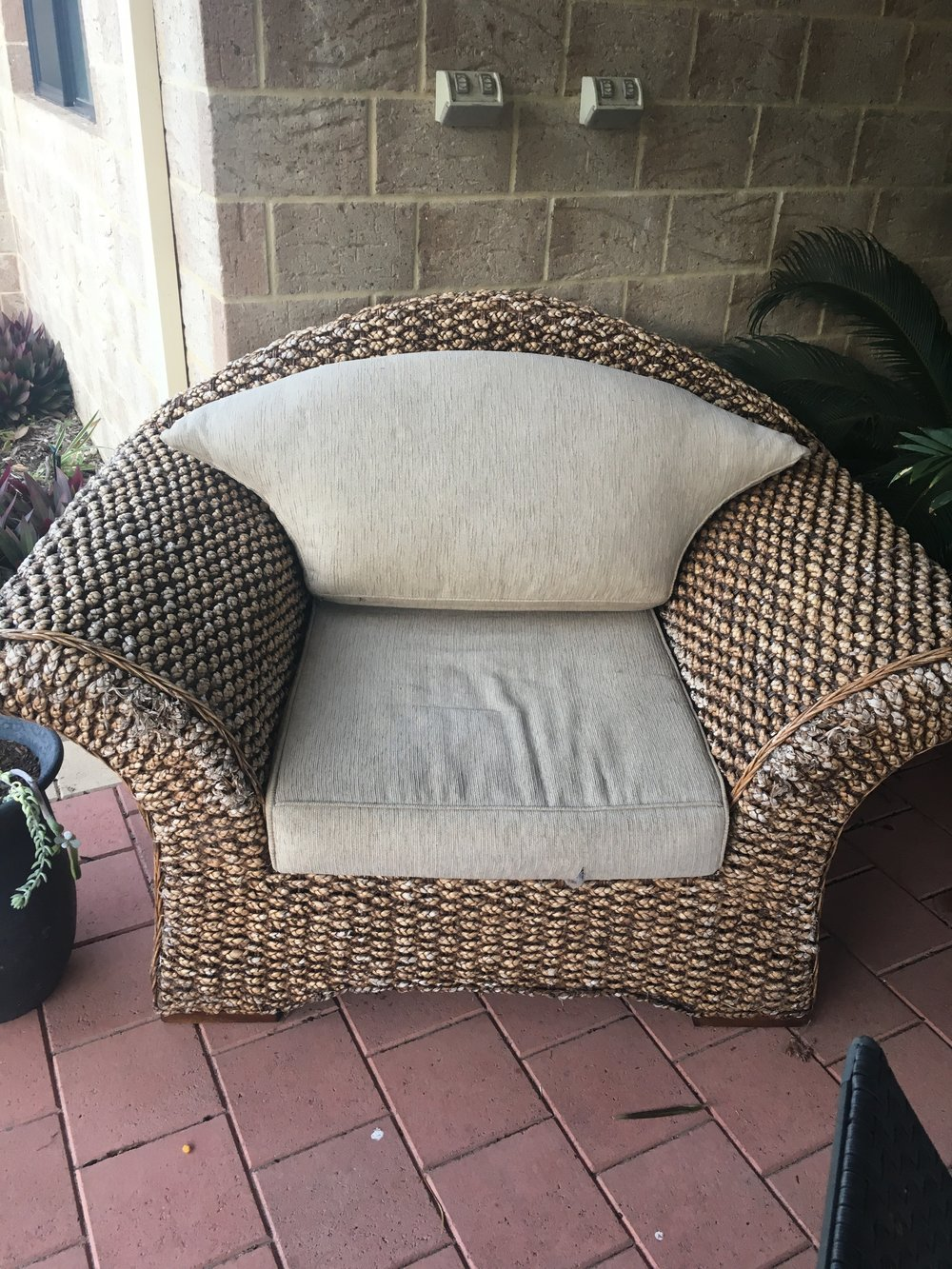 Outdoor chair everything geraldton