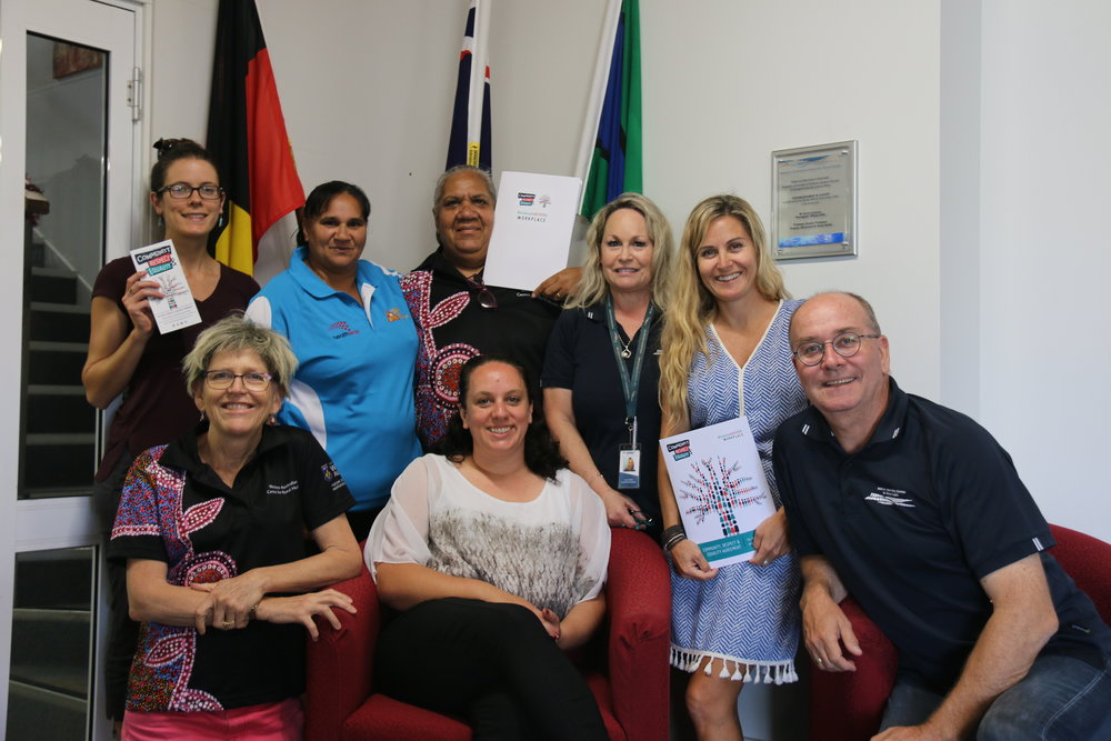 WACRH staff are keen to start working collectively towards the prevention of family violence in Geraldton as part of the CRE Agreement.