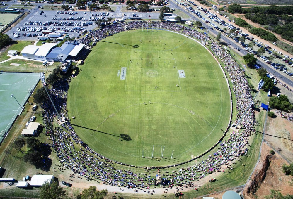 The Wonthella Oval