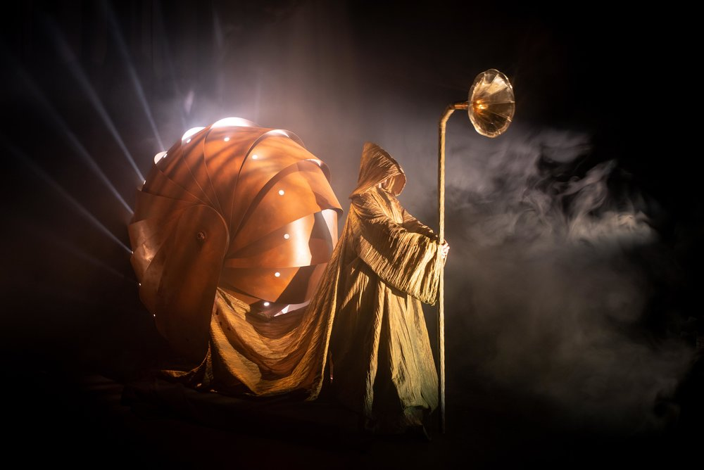 Spare Parts Puppet Theatre are bringing Galileo and Celeste to this year's Wind on Water Festival. Picture: Spare Parts Puppet Theatre