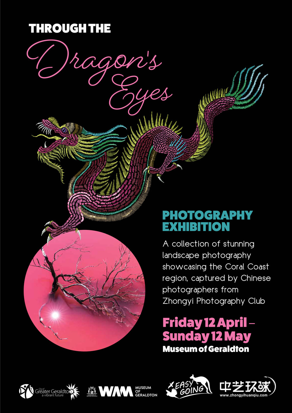 Dragons Eye Photo Exhibition Poster