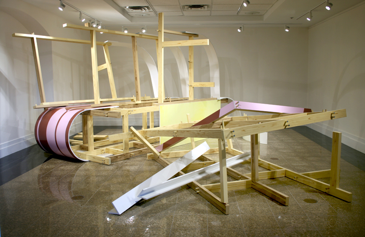 """A Functional Incident"" at the McIninch Gallery, Southern New Hampshire University"