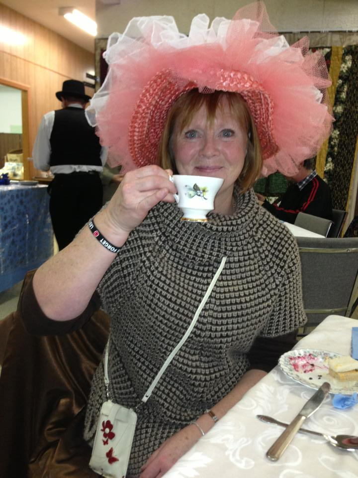 High Tea at the Dickens' Festival